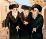 Three Generations (Pshevorsk) #4246  (Carl Braude) - Rabbis