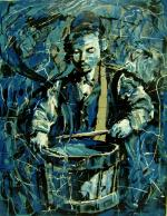 Music Boy Modern Art #BD1018  (Boris Dubrov) - Abstract/ Modern Art