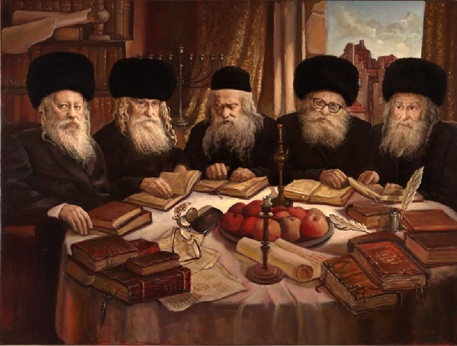 The Gerer Rabbi`s #10002  (Vincent Louis).