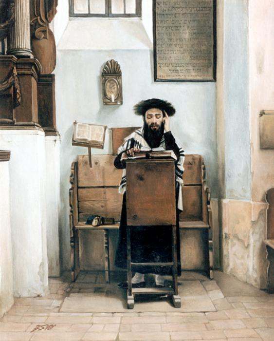 Talmudist  #2550 (Stephan Zanger after Isidor Kaufman) .