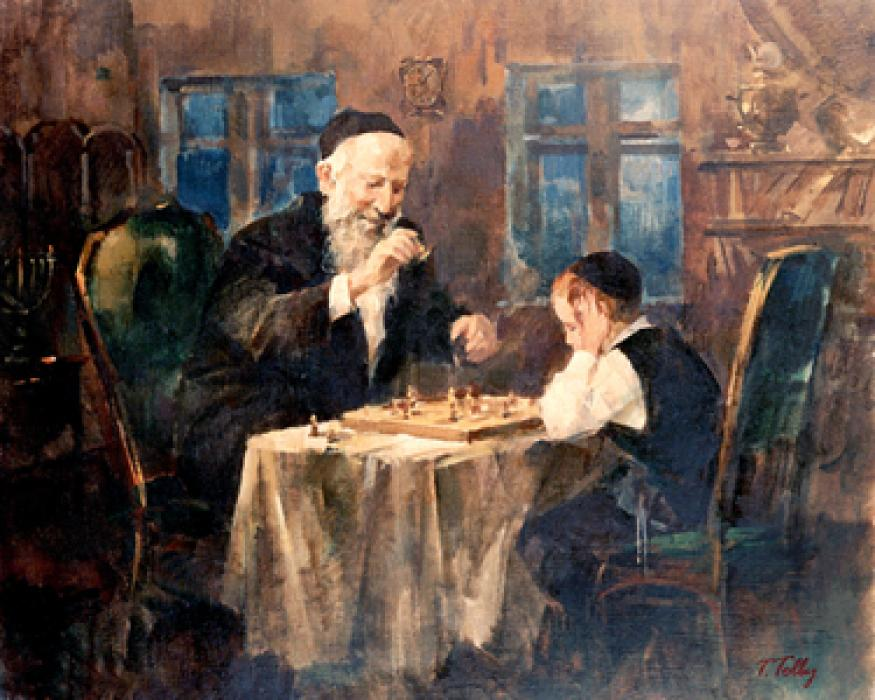 Chess with Zeide #6954  (Theodor Tolby).