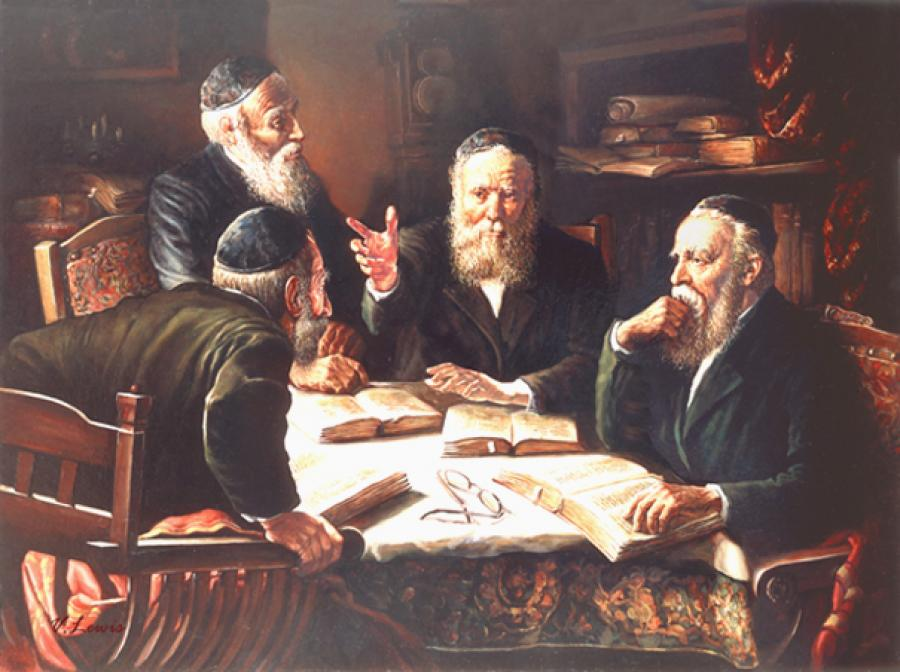 Vikuach in Torah #9033 (Vincent Louis).
