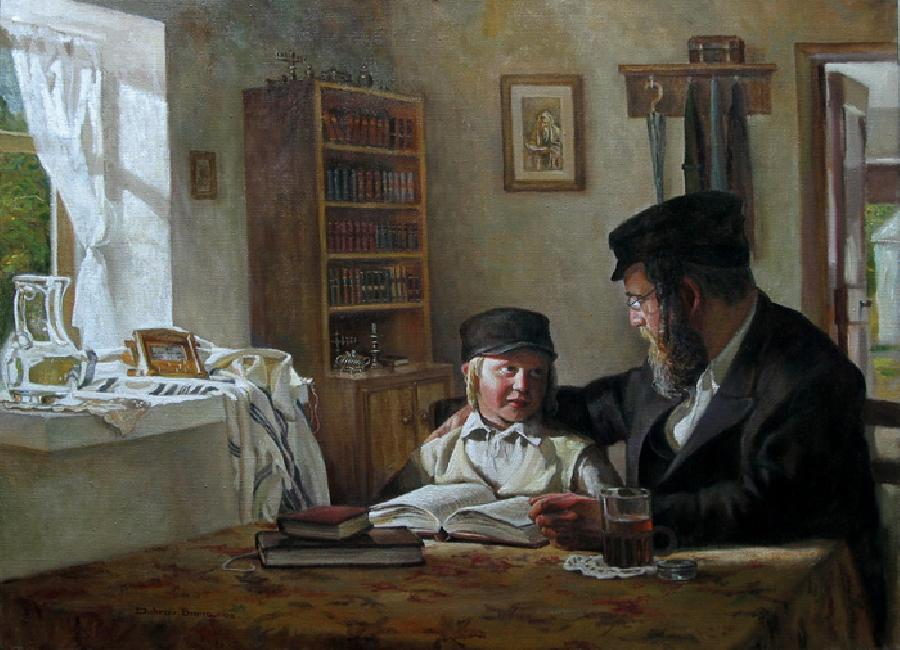 Teaching Torah 6 #BD1063   (Boris Dubrov).