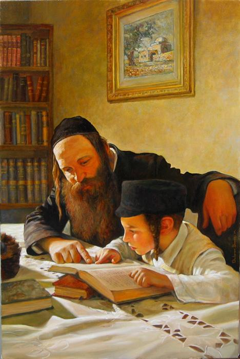 Teaching Torah 3 #BD1039  (Boris Dubrov).