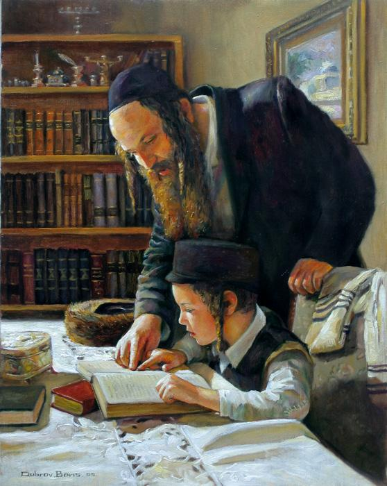 Teaching Torah 1 #BD1038  (Boris Dubrov).