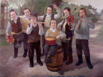 Childrens Band (Boris Dubrov) by Simcha/ Happiness