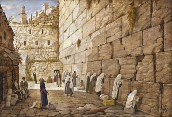 Kotel (Aryeh) by Jerusalem