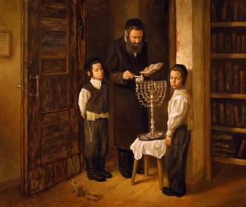 Chanukah #BD1001  (Boris Dubrov) by Shabbos and Holidays