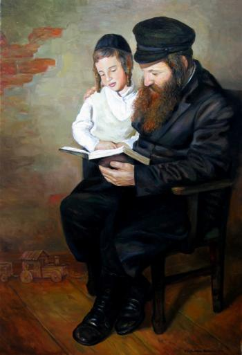 Teaching Torah 5 #BD1058   (Boris Dubrov)