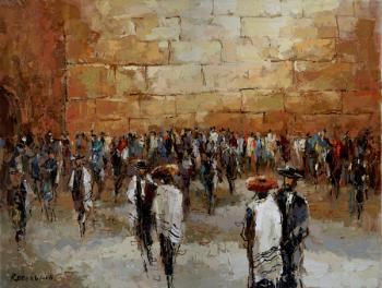 Kotel ( M. Rozenvain) by Abstract/ Modern Art