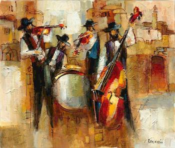 Musical Band (M. Rozenvain) by Abstract/ Modern Art