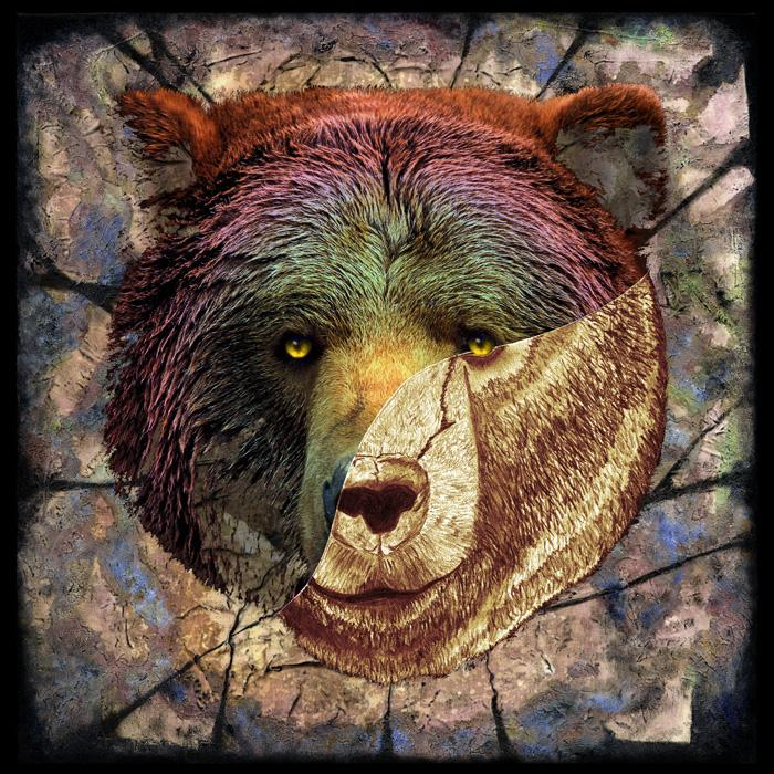 Portrait of a Brown Bear-color 2. Pricing upon request.