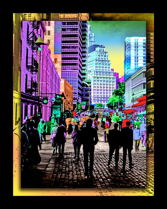City Style 2 color-1. Available in museum quality canvas and fine art paper. Pricing upon request.