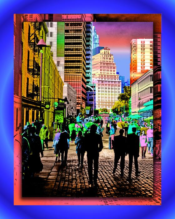 City Style 2 color-2. Available in museum quality canvas and fine art paper. Pricing upon request.
