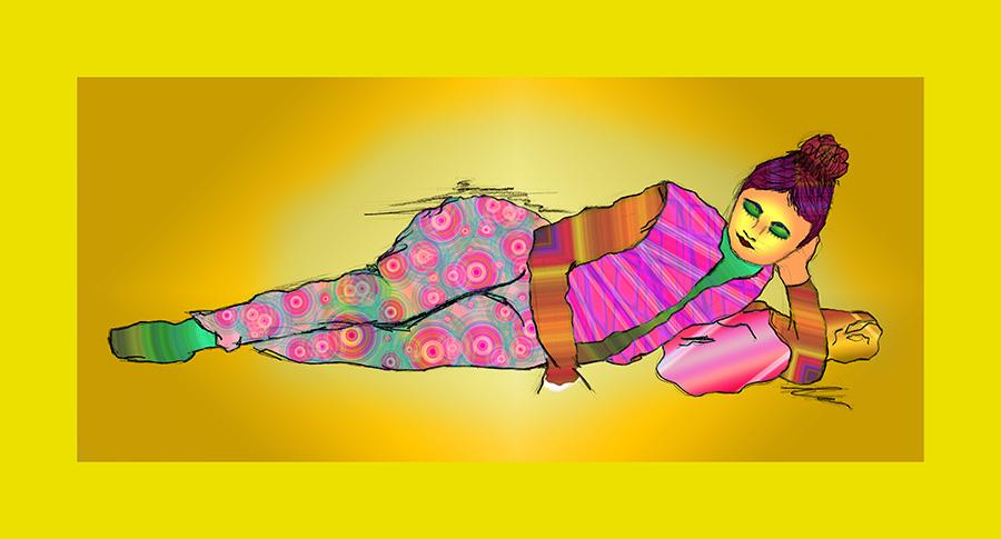 Lounging-lady-color-fk-6.