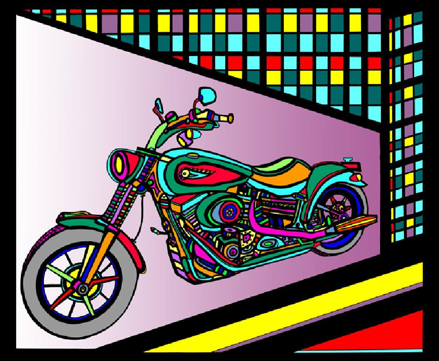 Motorcycle 1- Color 1. Pricing upon request.