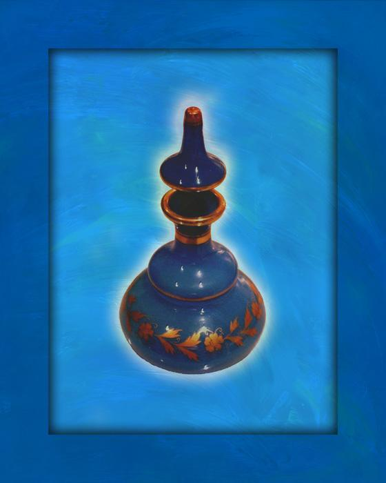 Opaline-painting 2-color-2. Antique opaline glass. Order in museum quality canvas or fine art paper. Pricing upon request.