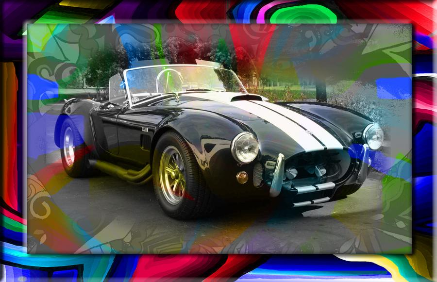 Shelby COBRA GT - 1. Send in or email a photo of your favorite vehicle for redesign. Price and size upon request.