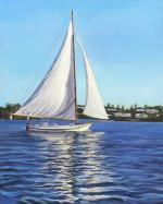 Afternoon sailing - Lisa Rego