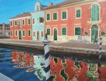 Afternoon Shadows in Burano