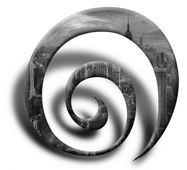 City spiral.