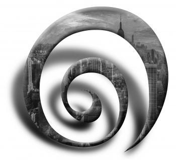City spiral - Nadia Mierau
