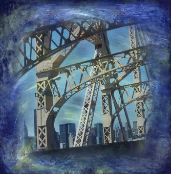Quinsboro Bridge by Nadia Mierau