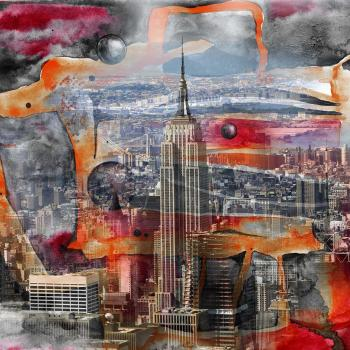 Space Time. Empirestate. Searching - Nadia Mierau