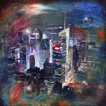 Space & time NYC - Nadia Mierau