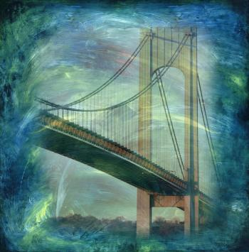 Verrazano bridge by Nadia Mierau