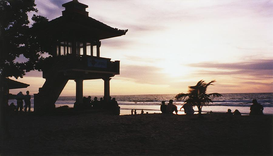 Natour Kuta Beach Sunset.