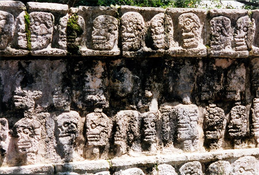 Chichen Itza's Many Faces.