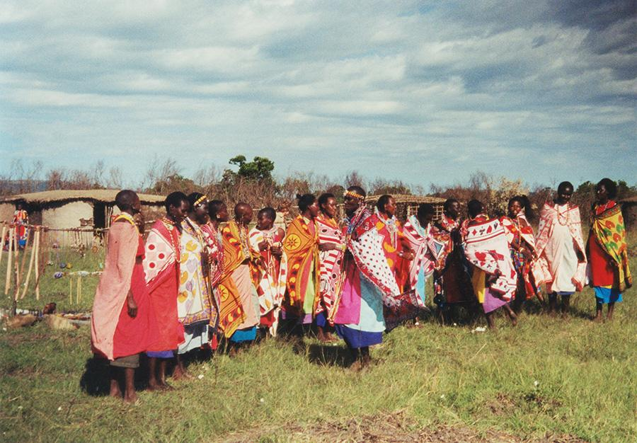 Ladies Of Masai Mara Tribe.