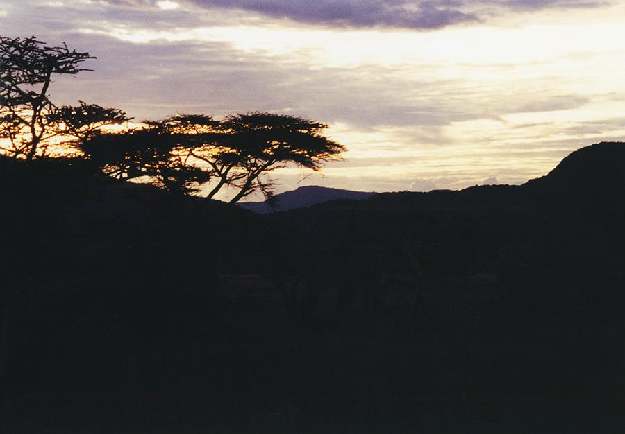 Kenya Sunset.