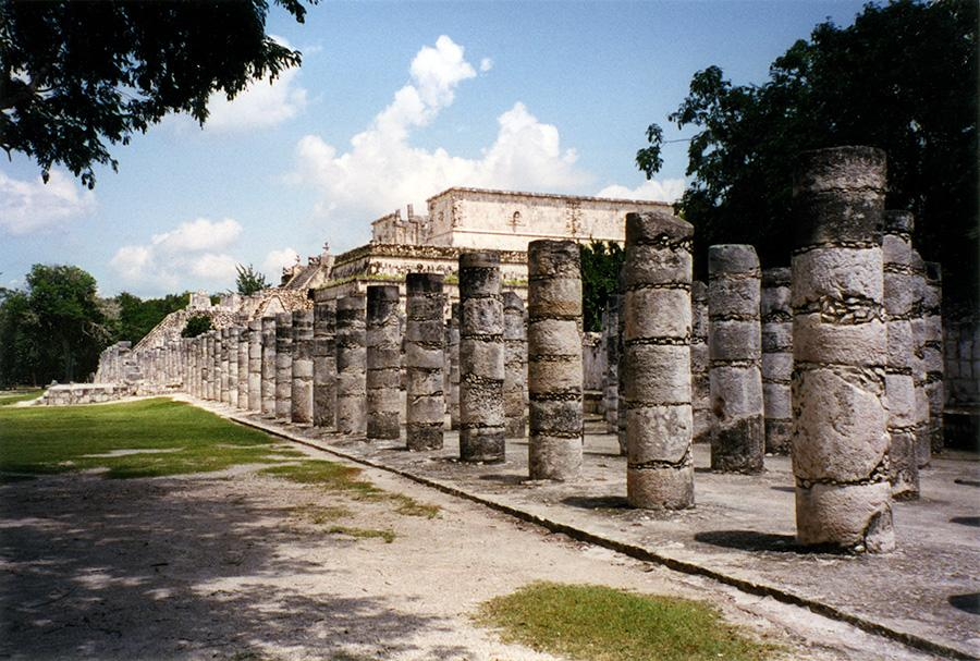 Chichen Itza As you Stroll.