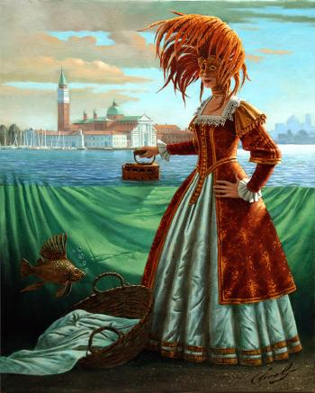 Tidying a tide by Michael Cheval