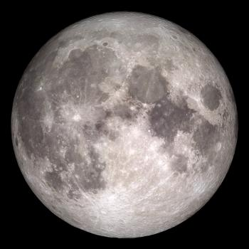 Christmas 2015 full moon