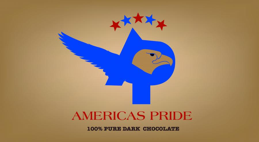 AMERCA'S PRIDE. Corporate Identity for a new chocolate