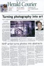 Artist profile in the Feb. 22, 2013 issue of the New Hyde Park Herald Courier