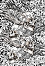 P4 Skull Shirt Cp