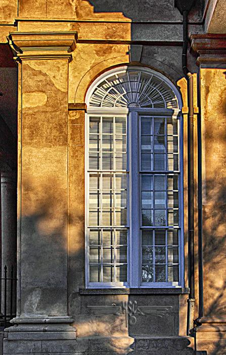 Charleston Window. All images are copyrighted. Original work reproduced on archival Giclee Print. A certificate is supplied .All are roled and shipped in a special cardboard container for protection shipping add $9
