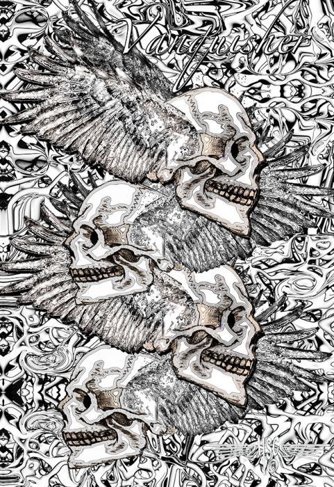 P4 Skull Shirt Cp.