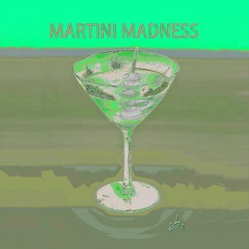 1martini Madnessyellow Napkin16 - H. Scott Cushing
