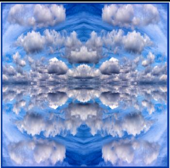 Clouds 24x24 - H. Scott Cushing