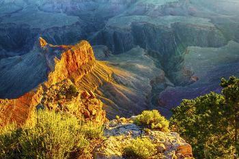 Grand Canyon 4 AM - H. Scott Cushing