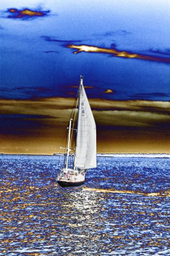 New sail - H. Scott Cushing