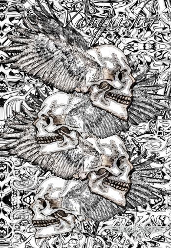 P4 Skull Shirt Cp - H. Scott Cushing