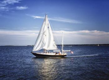 Sailing Along - H. Scott Cushing
