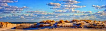 Sunsut at the beach - H. Scott Cushing