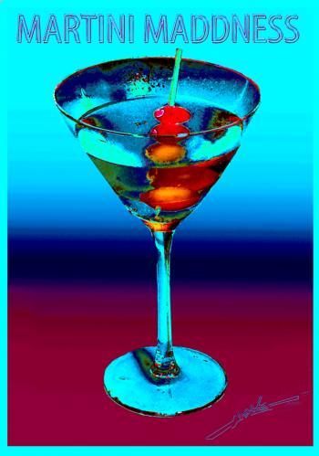 Three Olives Martini Copy - H. Scott Cushing